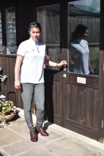 Sara Walker                 (equestrian journalist)